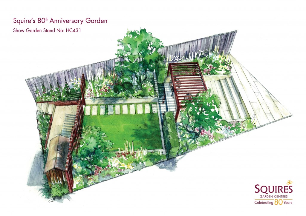 Squire's show garden image