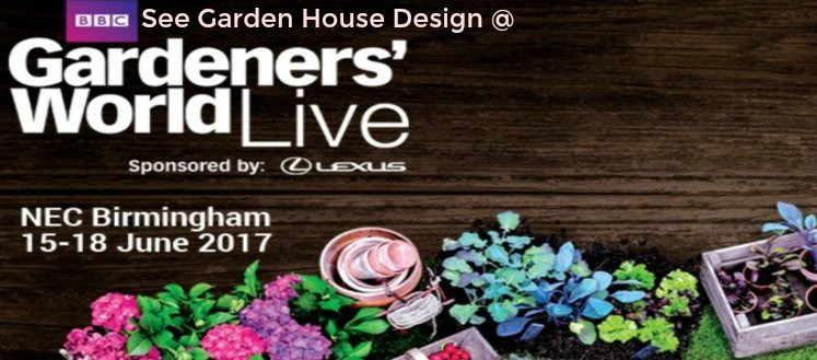 Link to page Garden House Design Exhibit at BBC Gardeners World Live 2018