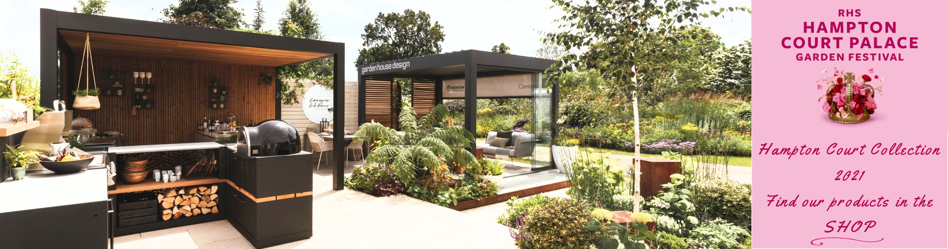 Link to page Garden House Design Hampton Court Trade Stand 2021