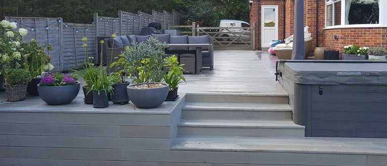Link to page Millboard Smoked Oak Composite Decking