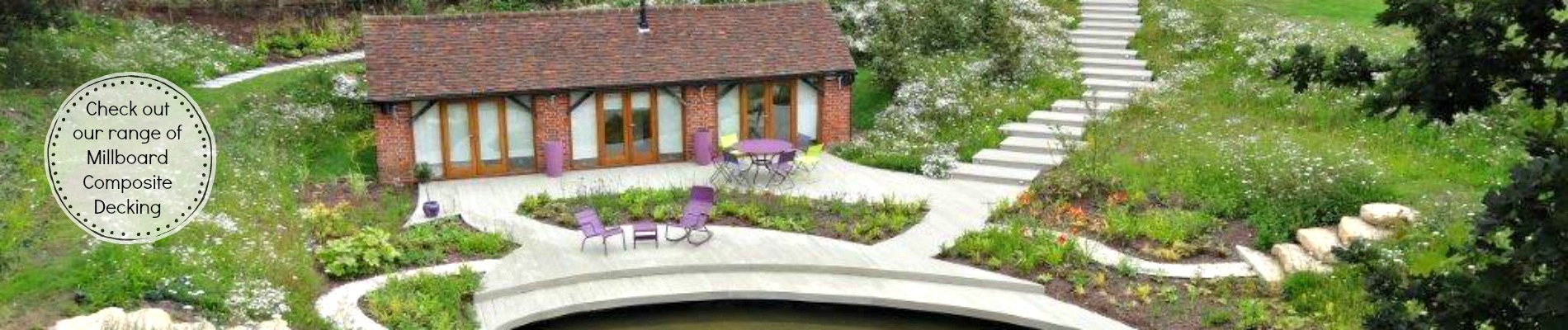 Link to page Garden House Design Millboard Composite Decking