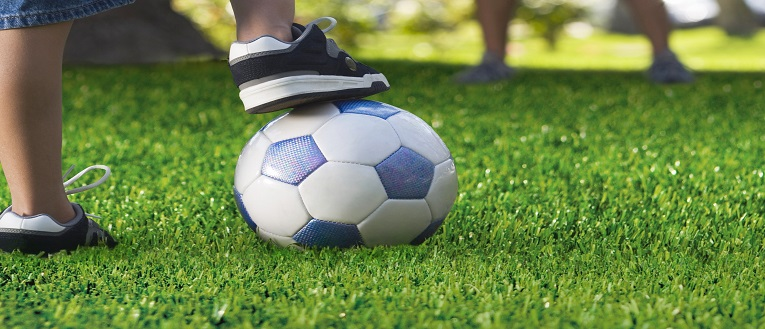 Link to page Artificial Grass and football
