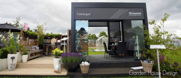 Link to page Garden House Design Exhibition at RHS Hampton Court Flower Show