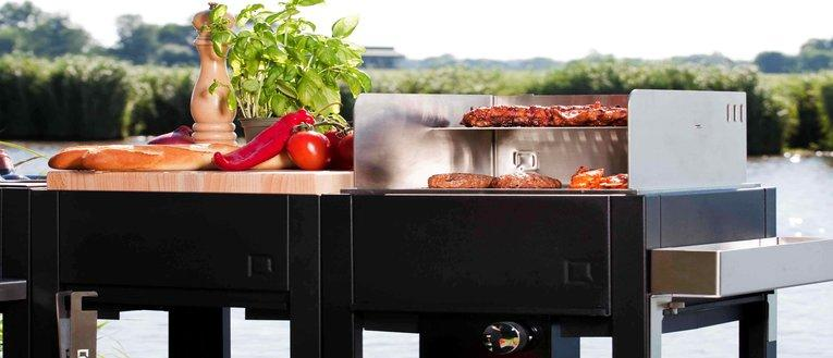 Link to page oneQ outdoor kitchens