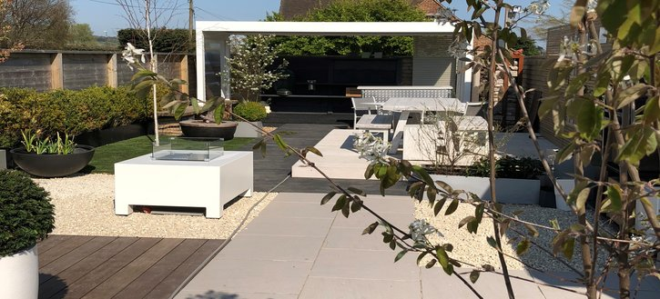 Link to page Garden House Design Display Area