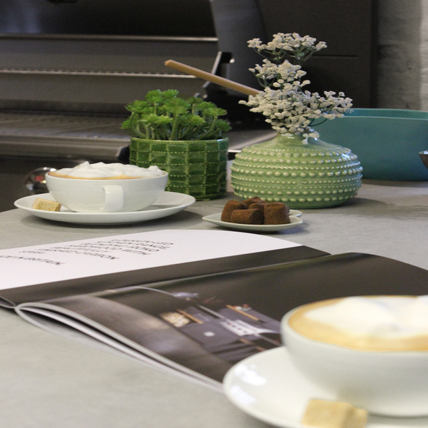Grillo vantage worktop by Garden House Design