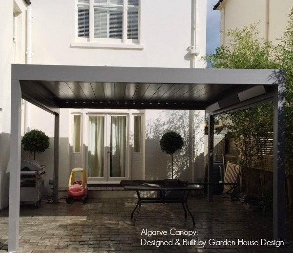 Algarve Terrace Cover over a patio by Garden House Design