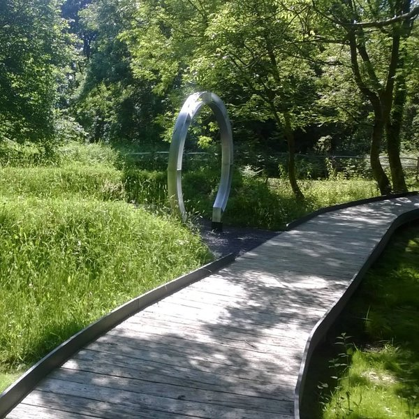 Chestnut Tree House Hospice Gardens by Garden House Design