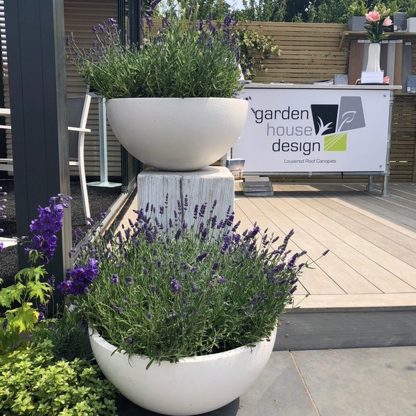 Designboard Composite Decks at Hampton Court Flower Show