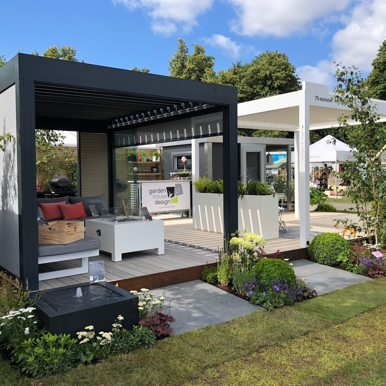 Hampton Court Flower Show Exhibition Trade Stand 2019