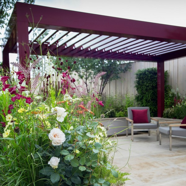 Show Garden by Catherine MacDonald featuring RENSON camargue
