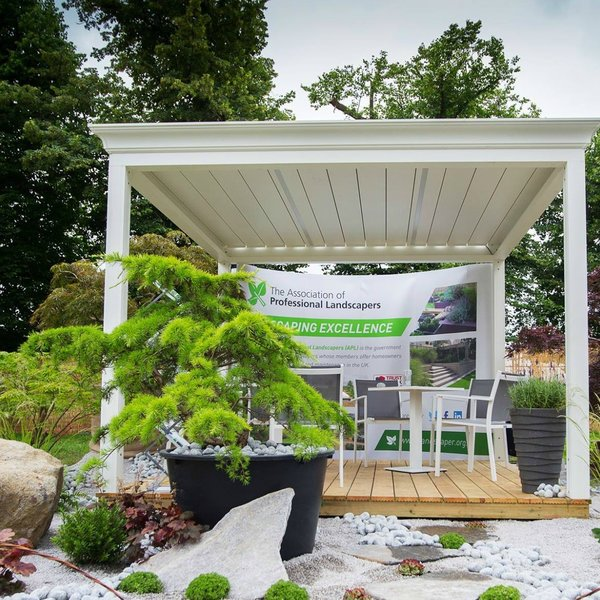 APL Stand at Hampton Court Flower Show