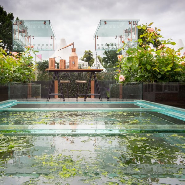 Crabtree & Evelyn Show Garden at Hampton Court