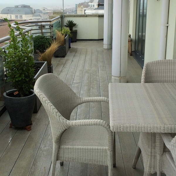 Roof Terrace on Seafront with Millboard Composite Decks