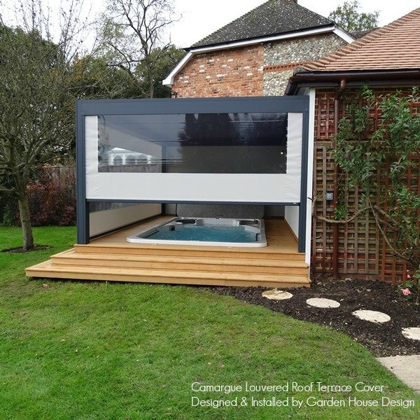 Renson Camargue Terrace Cover With 2 Side Screens