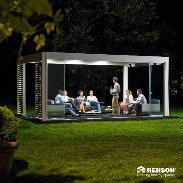 Renson Camargue with Roof Lights and Heater