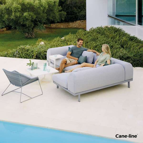 Cane-line large sofa seater by Garden House Design