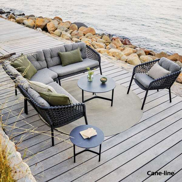 Cane-line sofa seaters by Garden House Design