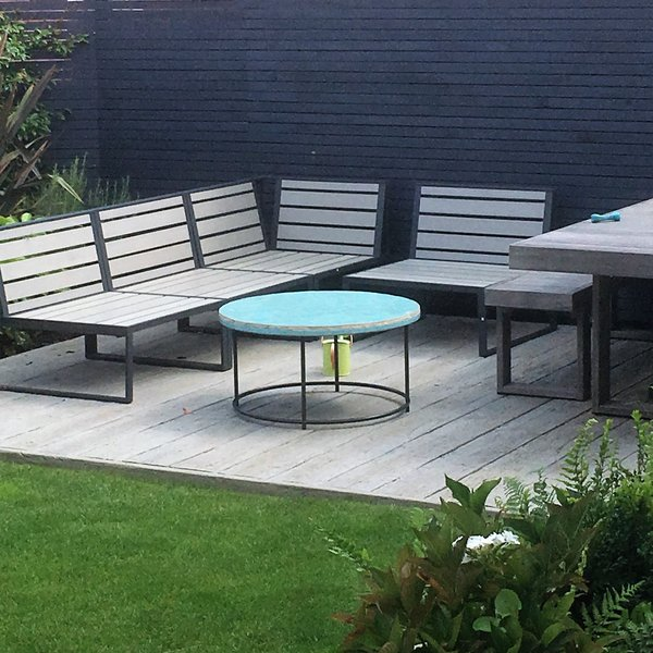 Millboard Composite Decked Area in Driftwood