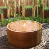 View Adezz Corten Round Water Tables details