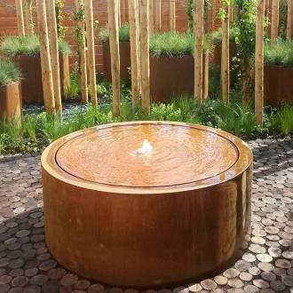 Main 6 for Corten Round Water Table