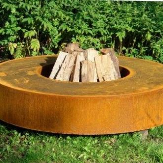 Main 6 for Adezz Corten Fire Table (Round)