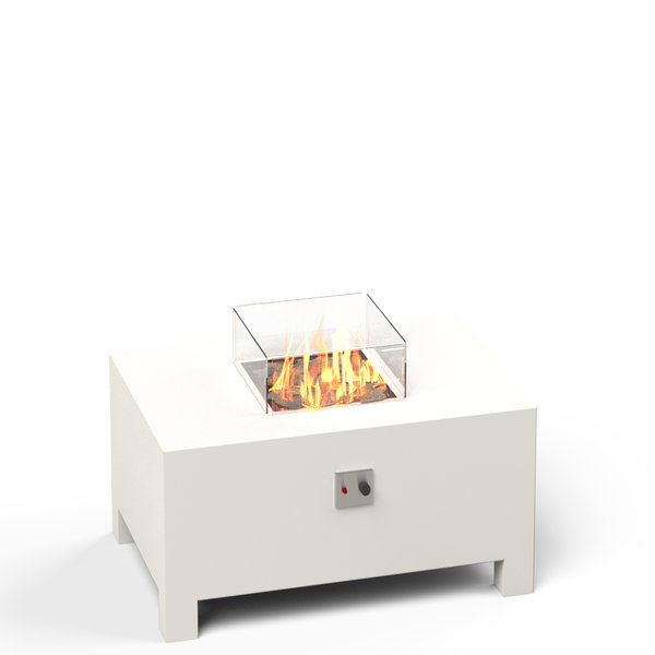 View Aluminium Gas Firepit - Rectangle details