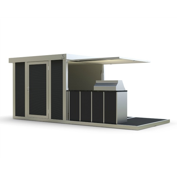 View BARBE-CUBE-fx Outdoor Kitchen details