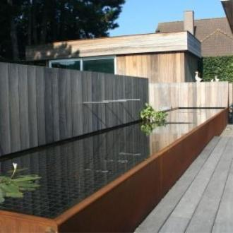 Main 6 for Small Corten Steel Pond