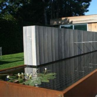 Main 6 for Large Corten Steel Pond