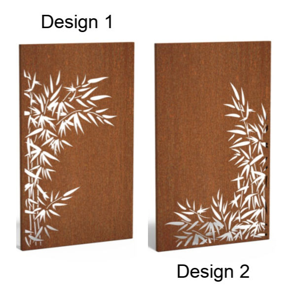View Corten Steel Feature Wall (Nature) details