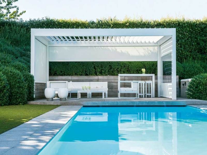 Algarve Terrace Cover Garden House Design