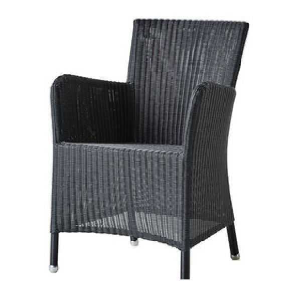View Hampstead Outdoor Black Chair details