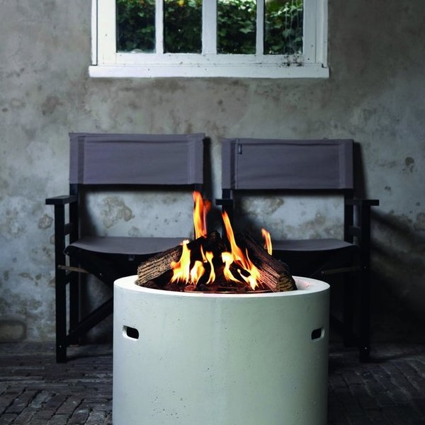 View Cocoon Round Gas Firepit details