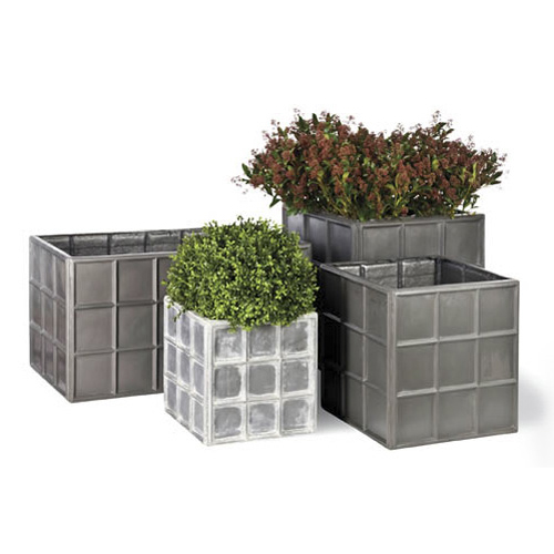 View Downing Street Planter in Faux ... details