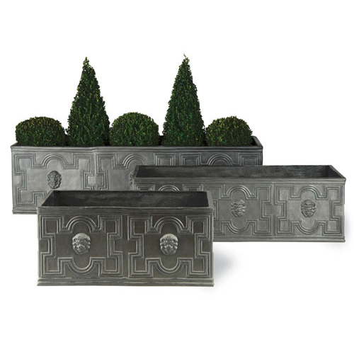 View Elizabethan Trough in Faux Lead details
