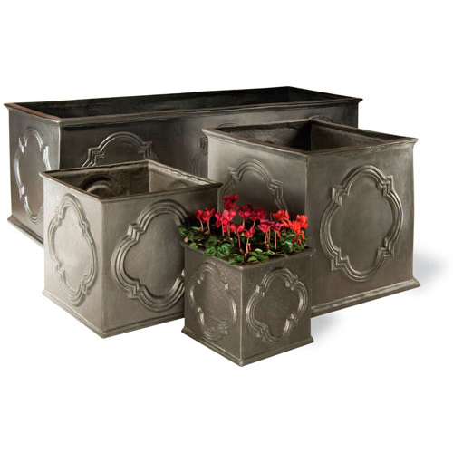 View Hampton Planter in Faux Lead details
