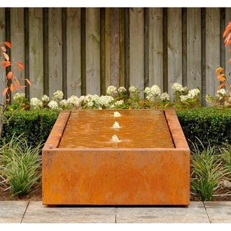 View Adezz Corten Water Tables (Long) details