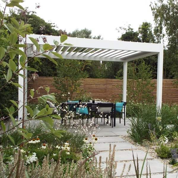 View Ellice® Patio Cover - Louvered ... details