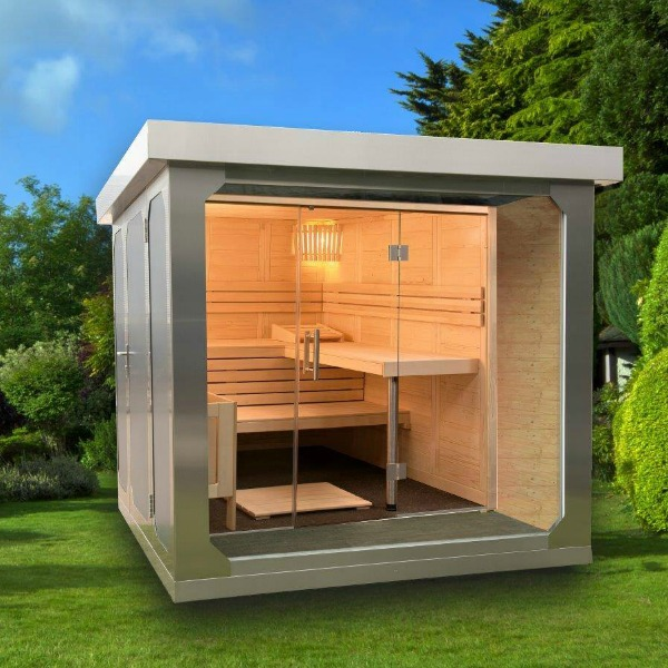 View CUBE fx Deluxe Garden Sauna products